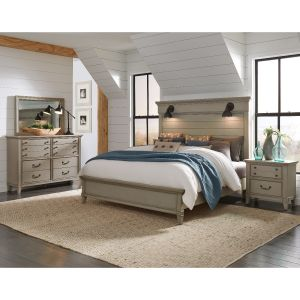 Sausalito Bedroom Collection - Farmhouse Styling