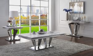 Satinka Occasional Tables - Faux Marble