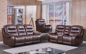 Gambia Power Motion Sofa Collection - Leather Air
