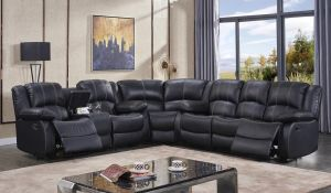Bjorn Motion Sectional - Top Grain Leather