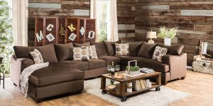 Wessington U-Shaped Oversized Chenille Sectional