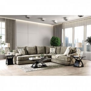 Senda Oversized Sectional - Taupe or Beige