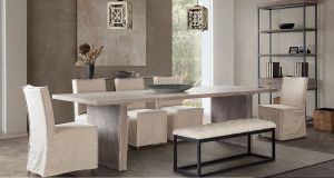 Sonoma Dining Collection - Rustic Oak Finish