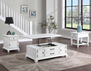 Charlestown 3-Piece Lift-Top Occasional Set
