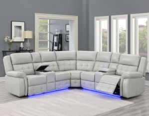 Durango 3 Pc Sectional - Lighted Running Lights