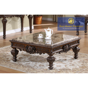 Sasha Traditional Occasional Tables - Marble Top