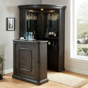 Voltaire 2 Pc Bar Set - Gray Finish