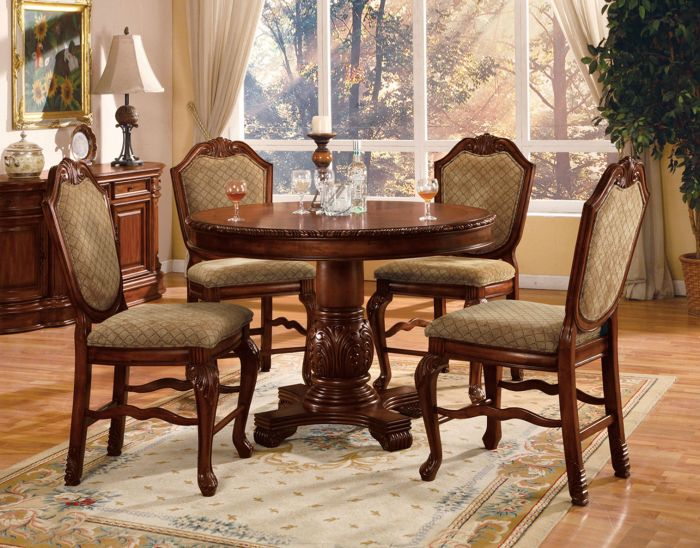 Chateau De Ville 04082 Counter Height Dining Collection Acme Furniture