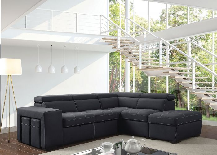 Athene Sectional Collection Pull Out Sleeper