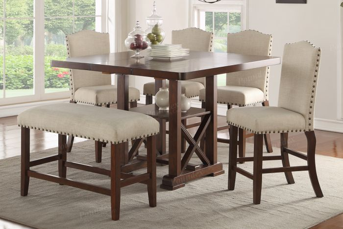 F2399 Counter Height Dining Table By