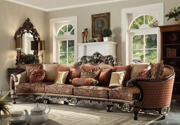 Oversized 5 Seat Living Room Sofa Sectional, Oversized Living Room Furniture